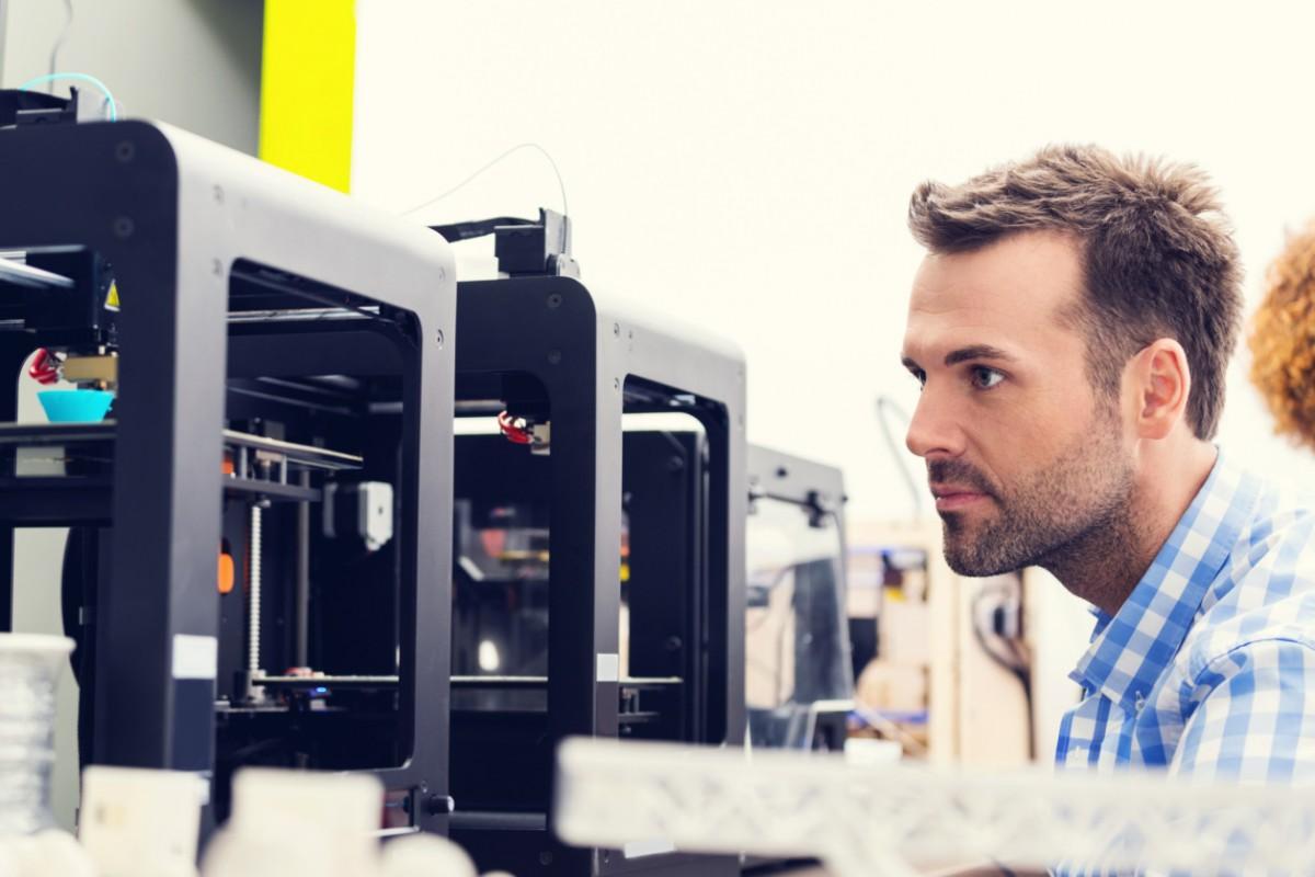 3D printer office